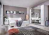 Schlafzimmer Komplett - Set Andara E, 6-teilig, Farbe: Weiß