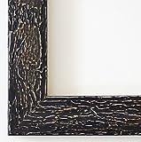 Wandspiegel Spiegel Badspiegel - Parma 4,0 - Schwarz - 60 x 100 - Außenmaß inkl. Massivholz-Rahmen - viele Größen verfügbar - Modern, Barock, Antik, Vintage