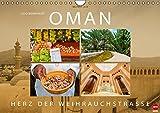 OMAN - Herz der Weihrauchstraße (Wandkalender 2016 DIN A4 quer): Eine Reise durch das legendäre Sultanat (Monatskalender, 14 Seiten) (CALVENDO Orte)