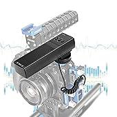 Meike-mk-mp21-suono-stereo-professionale-microfono-di-registrazione-per-CanonNikonSonyFujifilmOlympusPanasonicPentax-Hot-Shoe-telecamere
