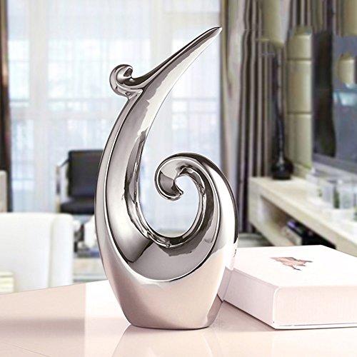 Desktop Decoration Bücherregal Büro Schreibtisch Wohnzimmer Haushalt Artikel Weinschrank Möbel (Farbe : All Silver) (Bücherregal 'w)