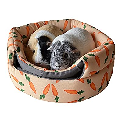 Rosewood Snuggles 2-In-1 Carrot Beehive Snuggle Bed by Rosewood