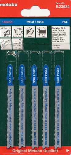 Preisvergleich Produktbild Metabo 5 Stichsägeblätter 66 mm / 1,1 progressiv, 623924000