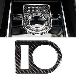 CHENCHUAN Autoteile Zierleisten Carbon-Faser-Auto-Ganganzeige dekorative Aufkleber for Jaguar F-PACE Auto-Innenausbau Zubehör