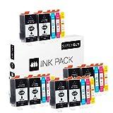 20 Druckerpatronen kompatibel zu HP 920 XL 920XL HP920XL C2N92AE passend für HP OfficeJet 6000 6500 6500a 6500a Plus 7000 7500a