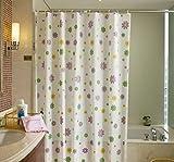 Patterns GZD piccolo fiore impermeabile Sanità e sicurezza 11 seta Spessore della famiglia Tenda della doccia Muffa , 150*180