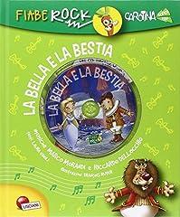 Idea Regalo - La Bella e la Bestia. Fiabe rock. Ediz. illustrata. Con CD Audio