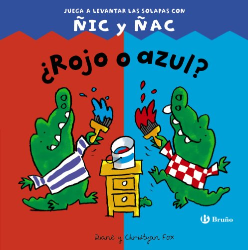 ¿Rojo o azul?: Juega a levantar las solapas con ÑIC y ÑAC