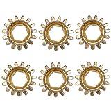 Sharplace Ingranaggio Di Sintonizzatore Tuning Pegs Key Head Per Chitarra - Oro, 01:15