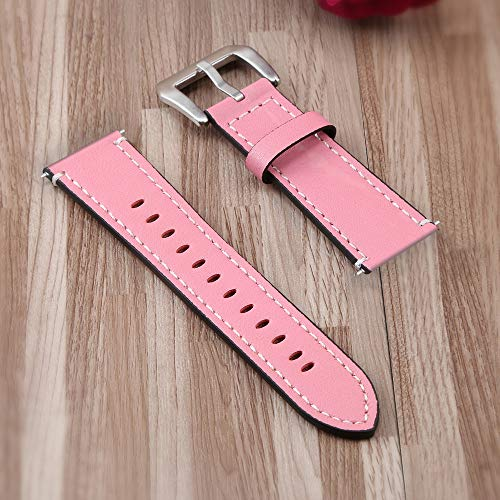 TianranRT Leder Spitzen Schwanz Riemen Ersatz Leder Armband Band Riemen Armband Für Fitbit Versa PK (Rosa) Leder Ipod Armband
