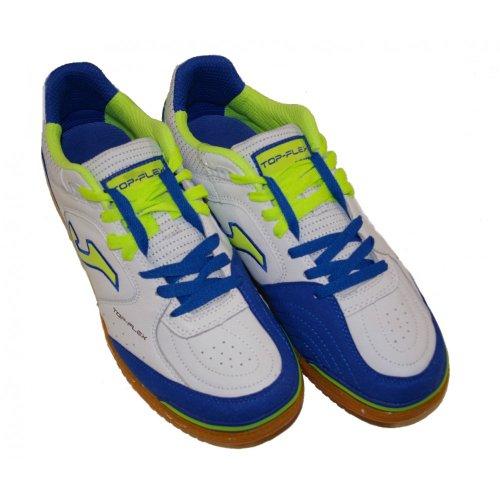 Joma , Chaussures pour homme spécial foot en salle Blanc-bleu roi