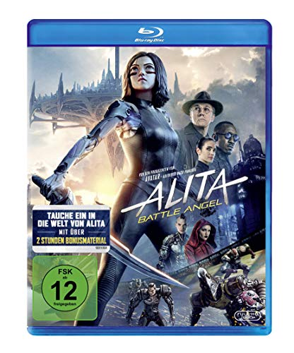 Alita: Battle Angel [Blu-ray] (Home Fox Entertainment)
