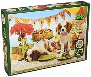 Cobblehill 80050 1000 Piezas Cada Perro Tiene su Puzzle de día, Varios