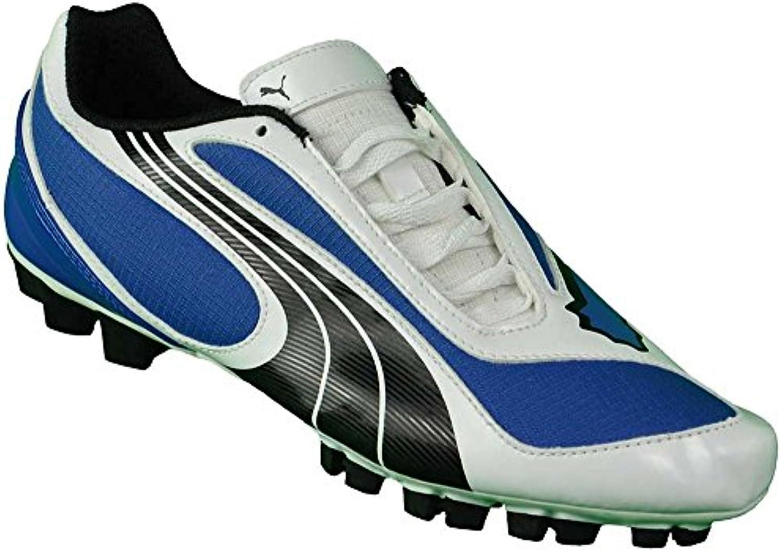 Puma V5.08 SL GCR HG Zapatos de Fútbol para Hombres Azul
