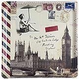 Platex bandeja laminado de Londres 33 x 33 cm