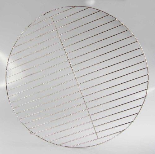 Griglia di acciaio inox Ø 50cm rotondo universale qualità acciaio inox v2a carboni grill braciere