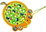 Nick and Ben Angel-Spiel Angeln-Spielzeug für Kinder Elektrisch Fische und Angel 4 Angelruten