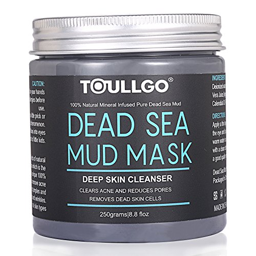 Dead Sea Mud Mask,Tote Meer Schlamm Maske , Totes Meer Schlamm Gesichtsmaske, 100% Natural Formula, Beseitigt Akne, Falten ,Reinigt Poren, Absorbs Excess Oil and Removes Dead Skin Cells to Reveal Fresh and Soft Skin 250 ml