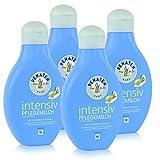 Penaten Baby intensiv Pflegemilch mit Olivenblattextrakt 400ml (4er Pack)