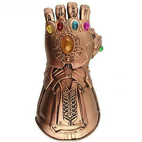 Thanos Handschuh für Cosplay,Infinity War Deluxe Infinity Gauntlet,Cosplay Handschuhe für Erwachsene (Marvel Heroes Halloween Kostüme)