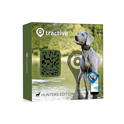 Tractive GPS Tracker für Hunde - Leichter und wasserfester Peilsender mit unlimitierter Reichweite -