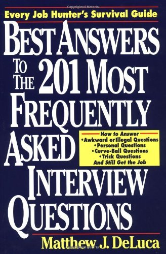 Best Answers to the 201 Most Frequently Asked Interview Questions (English Edition)