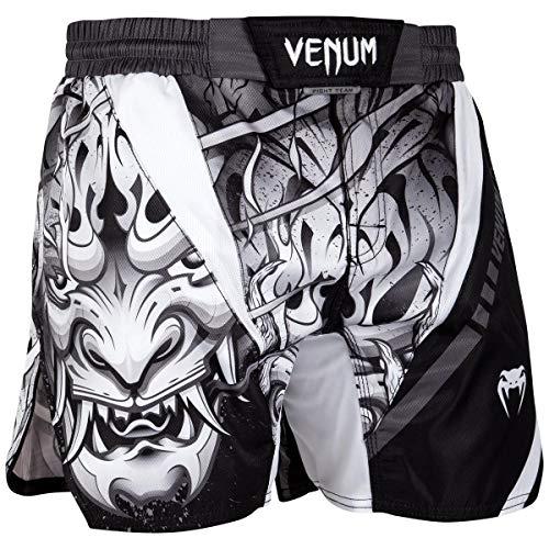 sale retailer a35d0 b1e7b Venum Devil, Pantaloncini di Allenamento Unisex – Adulto, Bianco Nero, M