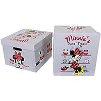 Legler - 2019275 - Muebles y Decoración - Caja de almacenamiento - Minnie Mouse
