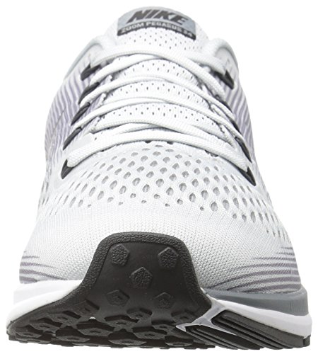 Nike Air Zoom Pegasus 34, Chaussures de Running Homme Gris (Platine Pur/Gris Froid/Noir/Anthracite)