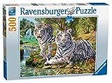 Ravensburger Puzzle Weiße Tiger, 500 Teile