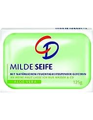 CD Milde Seife Aloe Vera, 6er Pack (6 x 4 x 125 g)