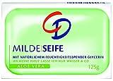 CD Milde Seife Aloe Vera 125 g / Feste Seife mit Glycerin und Aloe Vera im 24er Vorratspack (6 x (4 x 125 g))