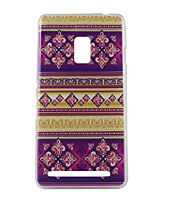 Exclusive Soft Silicon Back Case Cover Case For Asus Zenfone 6 - Craft Pattern Design 7