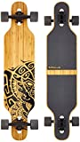 Apollo Longboard Tuvalu Special Edition Komplettboard mit High Speed ABEC Kugellagern inkl. Skate T-Tool, Drop Through Freeride Skaten Cruiser Boards