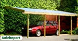 Anlehncarport Carport EIFEL I 350x600cm Bausatz, Anlehn Carport