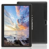 LNMBBS 3G Tablet 10 Pollici con WiFi, Quad Core,RAM 2GB, Memoria Interna 32 GB,Android 7.0, Nero