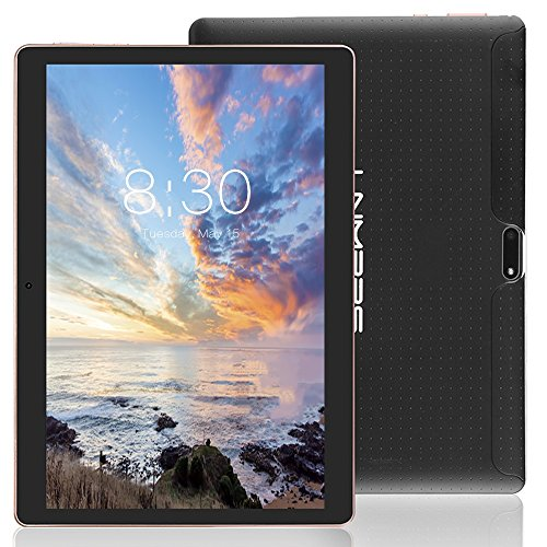 LNMBBS 3G Tablet de 10.1 Pulgadas HD (WiFi, 2 GB de RAM, 32GB de memoria interna, quad-core, Android 7.0), color Negro