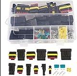 MASO Cavo Elettrico connettore terminali Kit Impermeabile connettori Set Box 1–6Pin Way Seal 15–10AWG