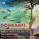 Dohnanyi: Variations (Variations On A Nursery Song/ Suite/ Symphonic Minutes)