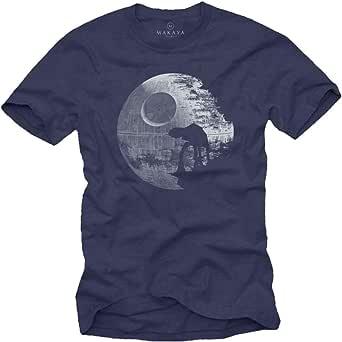MAKAYA Maglietta AT - T-Shirt Morte Nera Uomo