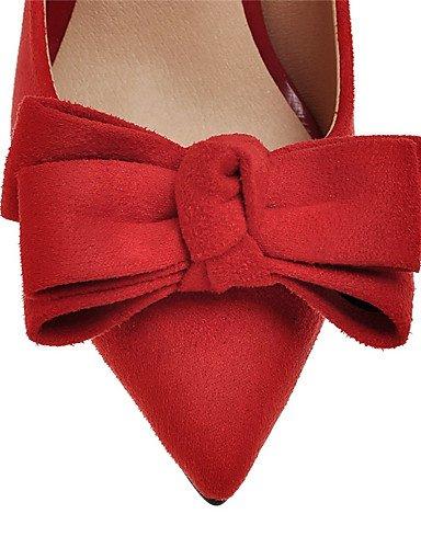 WSS 2016 chaussures talon aiguille talons des femmes / nouveauté / talons bout pointu mariage / fête&soirée / robe noire / rouge red-us7.5 / eu38 / uk5.5 / cn38