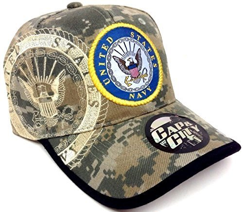 Seal United States Navy Digital Camo Camouflage Hat Cap Adjustable by Kap & - Cap Camo Navy Seals