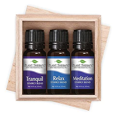 Plant Therapy Relaxation Essential Oil Set. 10 Ml Bottle Of: