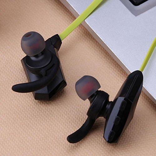 Asiproper wireless bluetooth 4.1binaurale stereo in-ear sport auricolare per il telefono