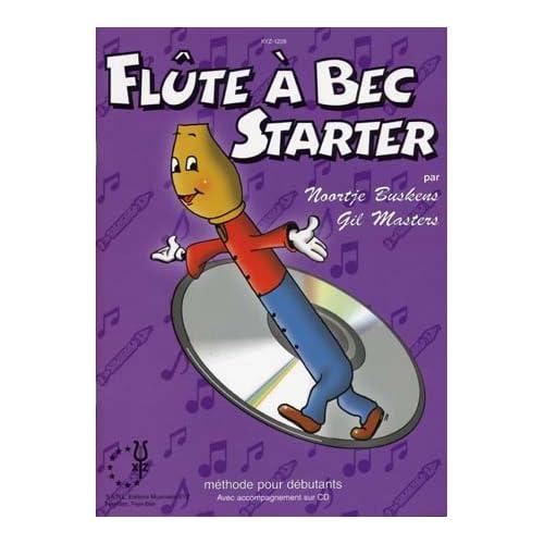 Flûte à bec Starter - Vol. 1