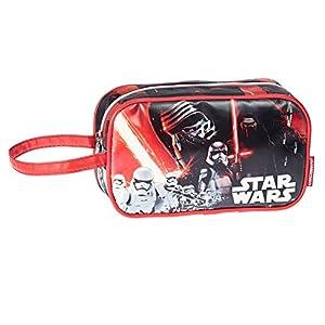 Karactermania Star Wars Lightsaber Bolsa de Aseo, 21 cm, Rojo
