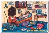 PST-Schild - Das alles für die paar Kröten ? - Schild Spaßschild Spaß Spassschild Spass Funschild Fun Fun-Schild Türschild Tür Kunststoff Geschenk Geburtstag