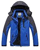 Snowboard-Jacken für Herren Winddicht und Wasserdicht Membrane für Outdoor-Bekleidung C Blau 1 M