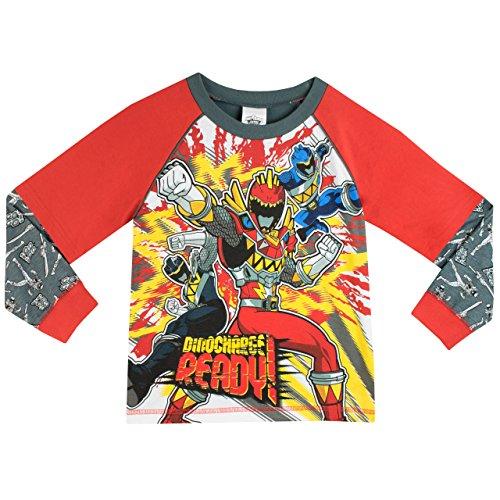 Image of Power Rangers Boys Power Rangers Pyjamas Dino Charge Age 6 to 7 Years