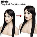 Invisible-Wire-in-Human-Hair-Extensions-No-Clip-One-Piece-Remy-Real-Hair-Straight-Elastic-Adjustable-Half-Head